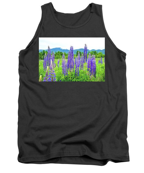 Tank Top featuring the photograph Field Of Purple by Greg Fortier