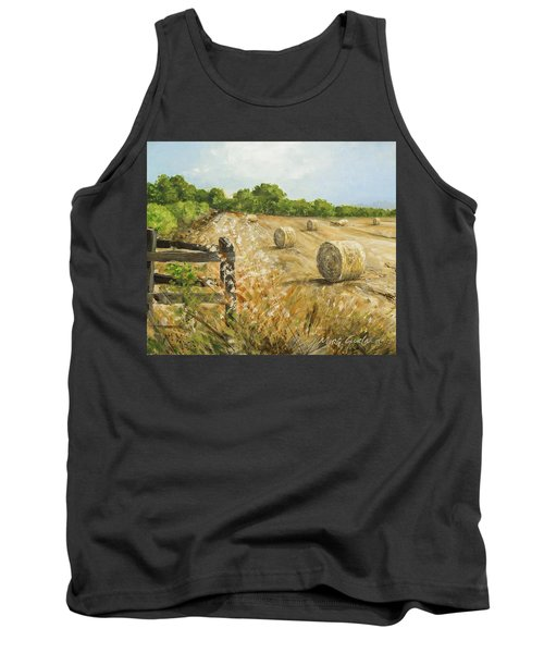 Fields Of Hay Tank Top by Marty Garland