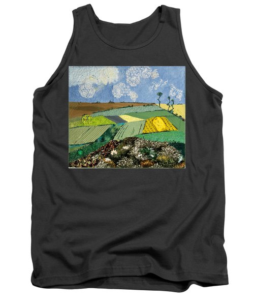 Fields To Gogh Tank Top