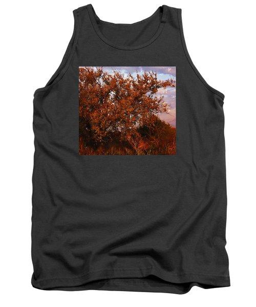 Fiery Elm Tree  Tank Top