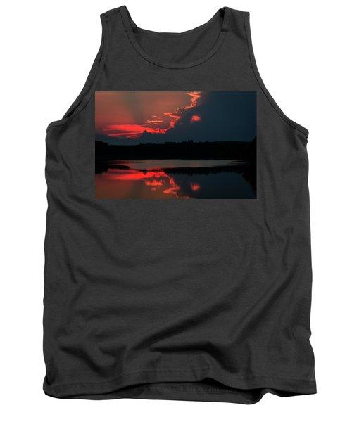Fiery Evening Tank Top