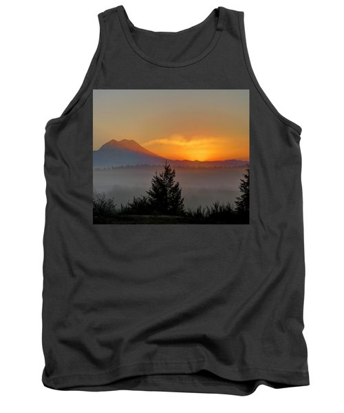 Fiery Fall Sunrise Tank Top