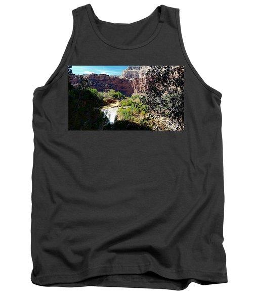 Fifty Falls And Havasupai Falls Havasupai Indian Reservation Tank Top