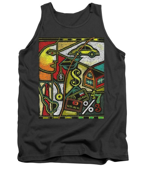 Finance And Medical Career Tank Top by Leon Zernitsky