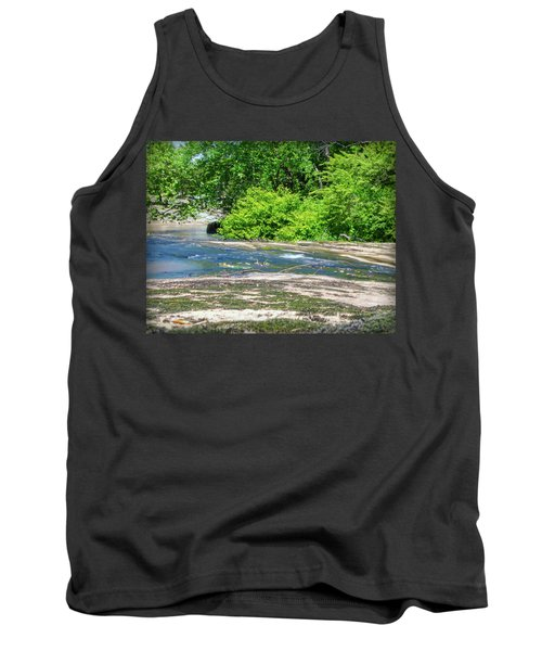 Tank Top featuring the photograph Fine Creek No. 3 by Laura DAddona