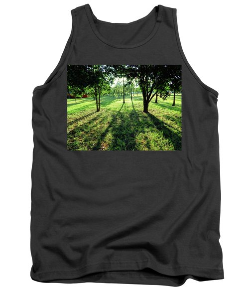 Tank Top featuring the photograph Fine Shadows by Beto Machado