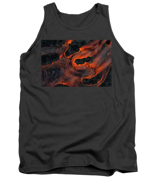 Fingers Of Lava Tank Top