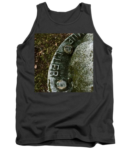 Fire Hydrant #10 Tank Top by Suzanne Lorenz