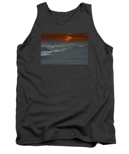 Tank Top featuring the photograph Fire In The Horizon by Renee Hardison