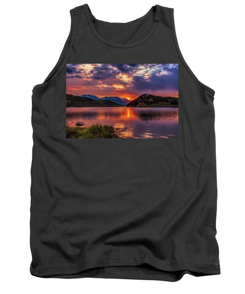 Fire On The Water Reflections Tank Top