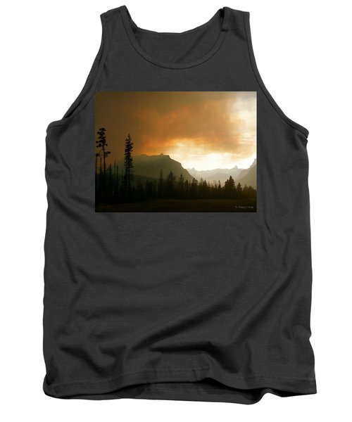 Fire Over St Mary Tank Top