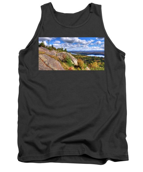 Fire Tower On Bald Mountain Tank Top