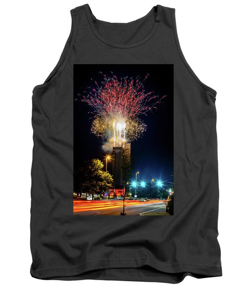 Fire Works In Fort Wayne Tank Top