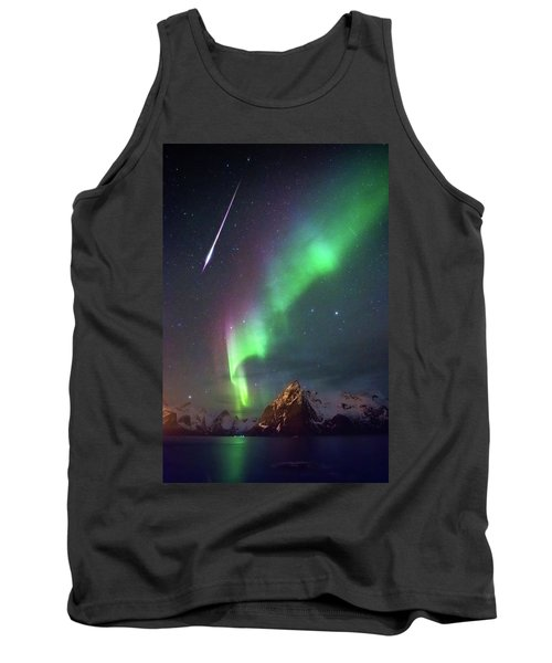 Fireball In The Aurora Tank Top