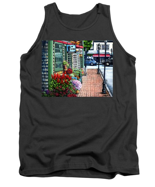 Firefly Lane Bar Harbor Maine Tank Top by Eileen Patten Oliver