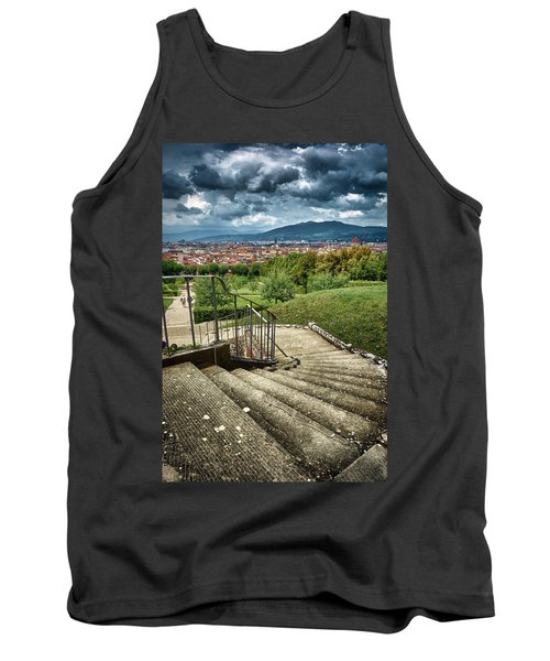 Firenze From The Boboli Gardens Tank Top