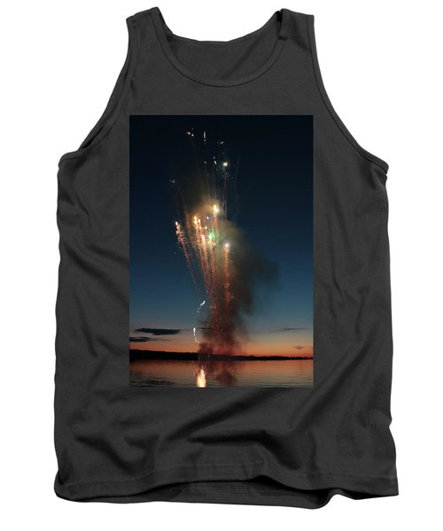Fireworks After Sunset Tank Top