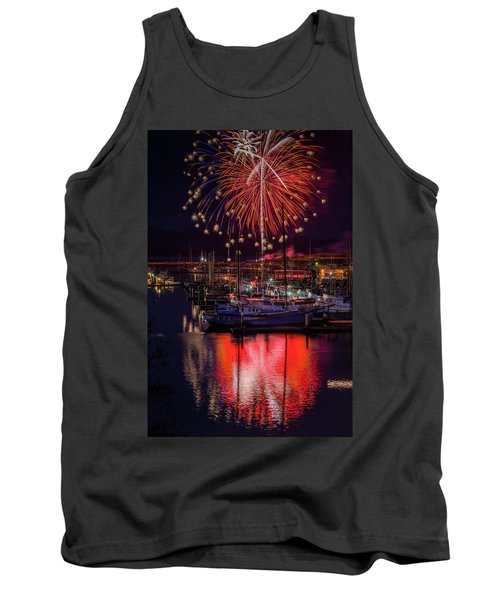 Fireworks At The Docks Tank Top