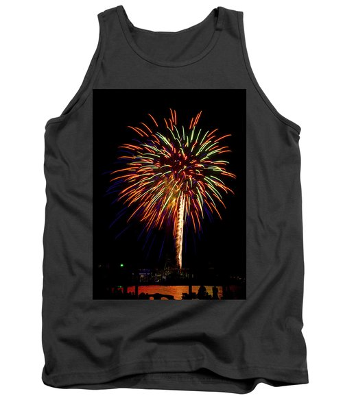 Fireworks Tank Top by Bill Barber