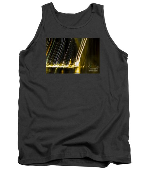 fireworks in Port of Malaga Tank Top