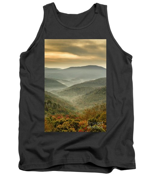 First Day Of Fall Highlands Tank Top