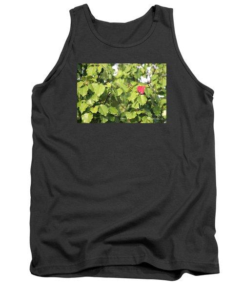 First Fall Leaf Tank Top