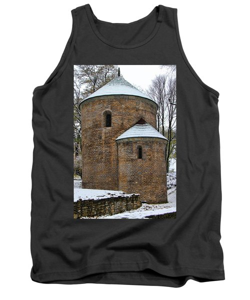 First Snow Tank Top by Mariola Bitner