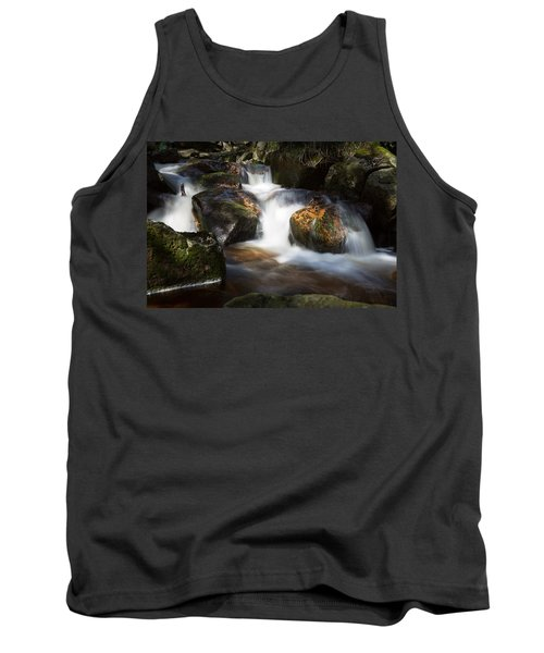 first spring sunlight on the Warme Bode, Harz Tank Top