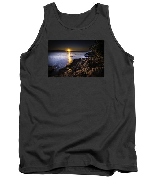 First Rays Over The Adriatic Tank Top