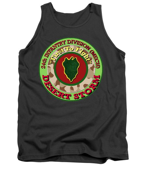 First To Fight Tank Top