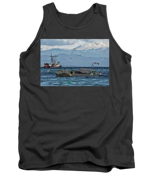 Tank Top featuring the photograph Fish Are Flying by Randy Hall