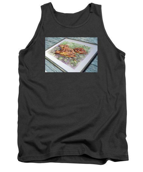 Fish Bowl 2 Tank Top by William Love