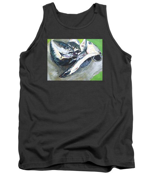 Fish On A Table Tank Top