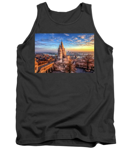 Fisherman's Bastion In Budapest Tank Top by Shawn Everhart