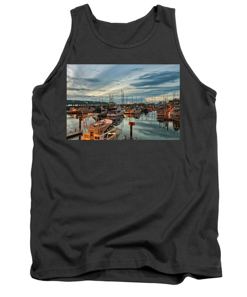Tank Top featuring the photograph Fishermans Wharf by Randy Hall