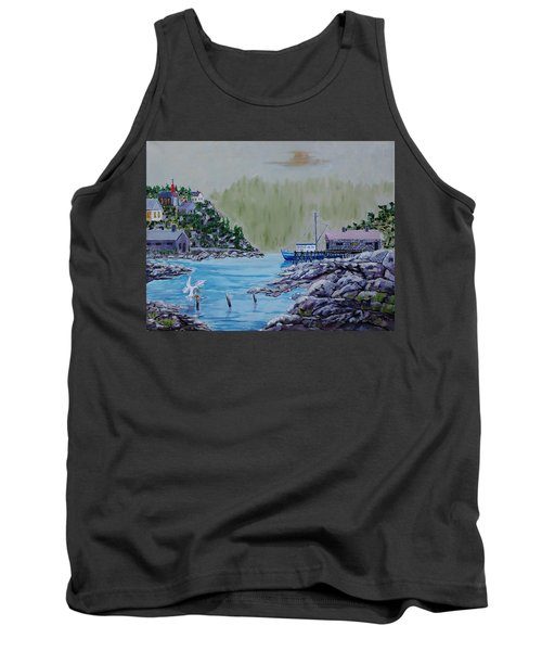 Fisher's Cove Tank Top by Mike Caitham