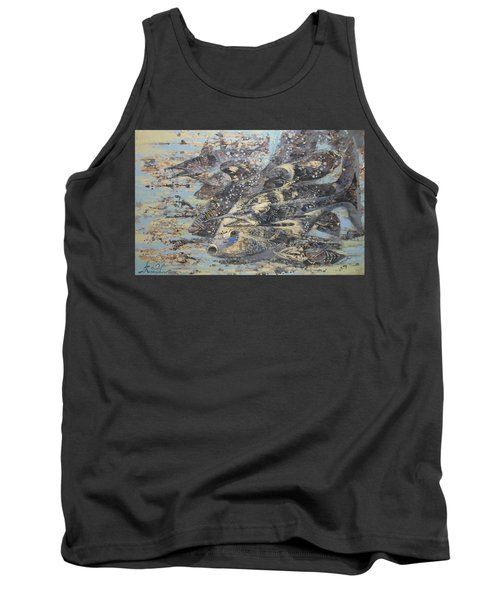 Fishes. Monotype Tank Top