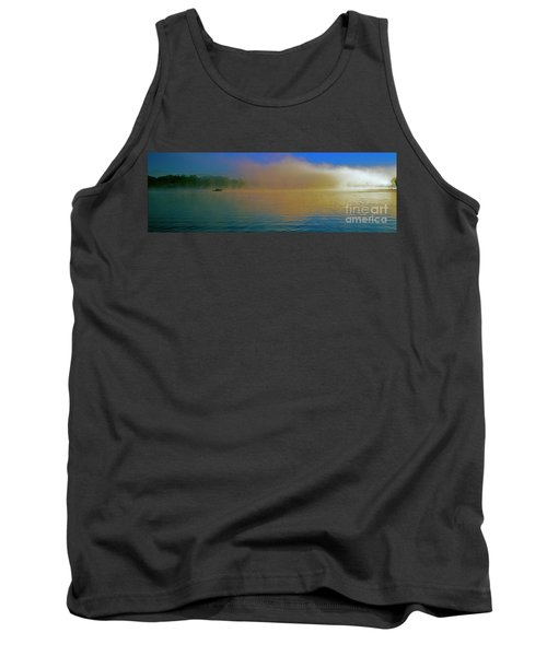 Fishing Boat Day Break  Tank Top