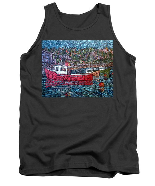 Fishing Boats - Beaver Harbour Tank Top