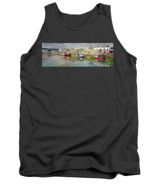 Fishing Boats In Ireland Tank Top