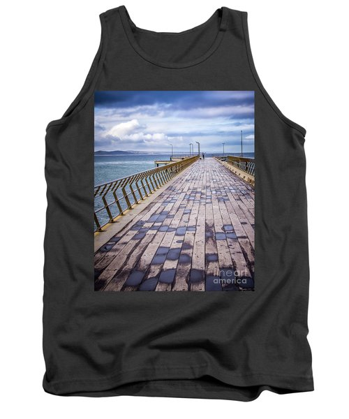 Tank Top featuring the photograph Fishing Day by Perry Webster