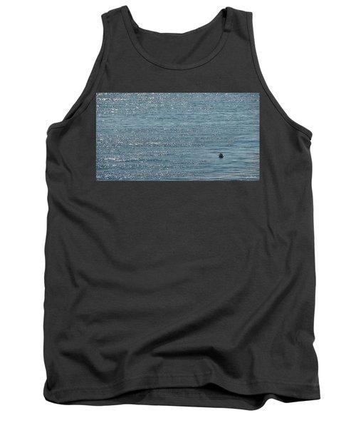 Tank Top featuring the photograph Fishing In The Ocean Off Palos Verdes by Joe Bonita
