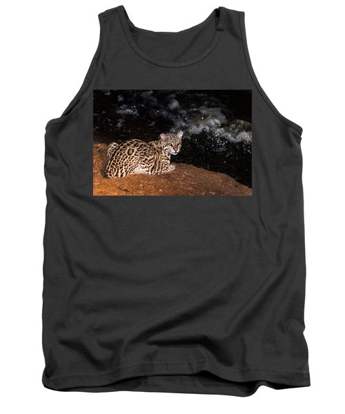 Fishing In The Stream Tank Top by Alex Lapidus