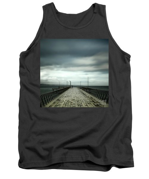 Tank Top featuring the photograph Fishing Pier by Perry Webster