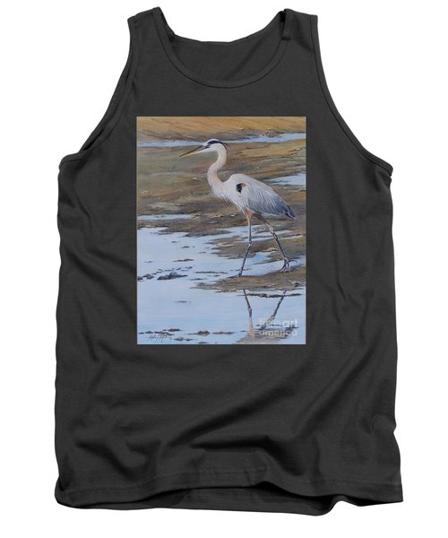 Fishing The Mud Flats...sold  Tank Top