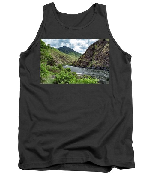 Fishing The Snake Waterscape Art By Kaylyn Franks Tank Top