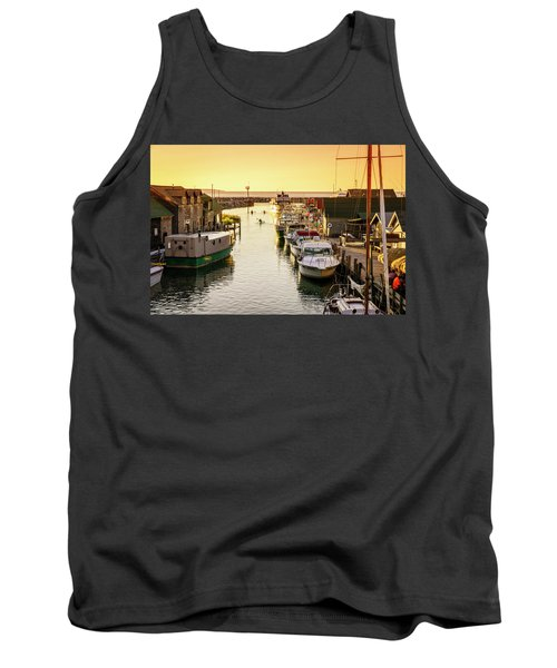 Tank Top featuring the photograph Fishtown by Alexey Stiop