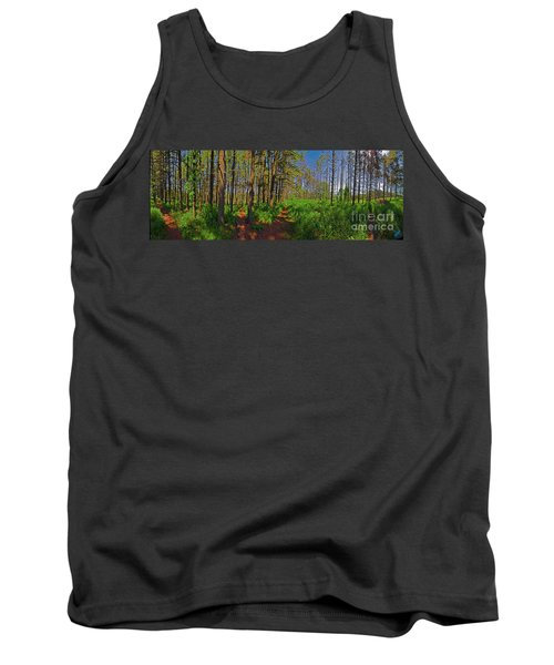 Paths, Pines 360 Tank Top