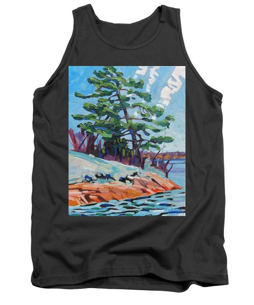 Flags And Contrails Tank Top