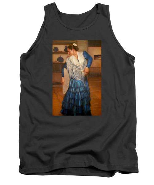 Flamenco 2 Tank Top by Donelli  DiMaria
